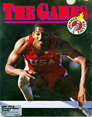 The Games: Summer Edition DOS front cover