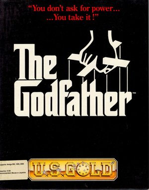 The Godfather: The Action Game DOS front cover