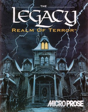 The Legacy: Realm of Terror DOS front cover