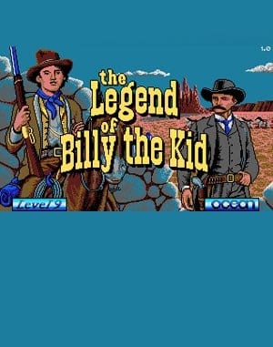 The Legend of Billy the Kid DOS front cover