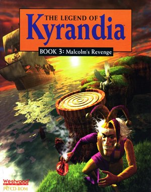 The Legend of Kyrandia: Malcolm's Revenge DOS front cover