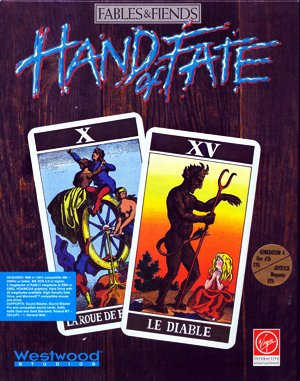 The Legend of Kyrandia: Hand of Fate DOS front cover