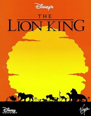 The Lion King DOS front cover