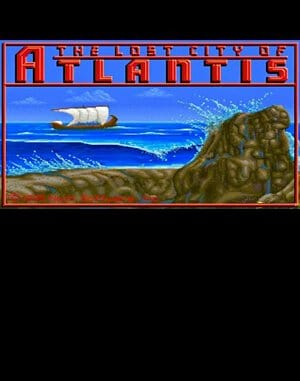 The Lost City of Atlantis DOS front cover