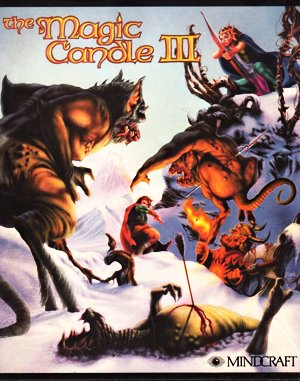 The Magic Candle III DOS front cover