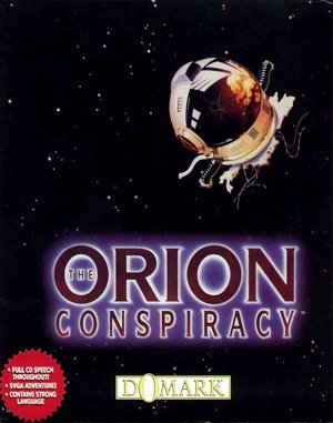 The Orion Conspiracy DOS front cover