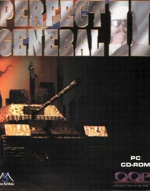 The Perfect General II DOS front cover