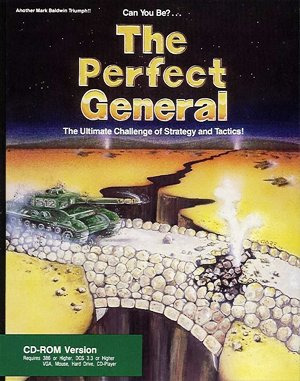 The Perfect General DOS front cover