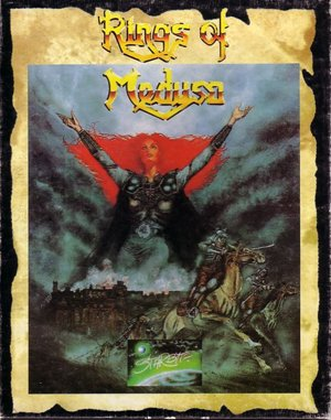 The Rings of Medusa DOS front cover