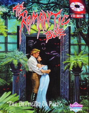 The Romantic Blue DOS front cover