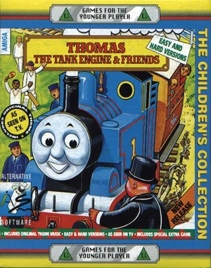 Thomas the Tank Engine DOS front cover