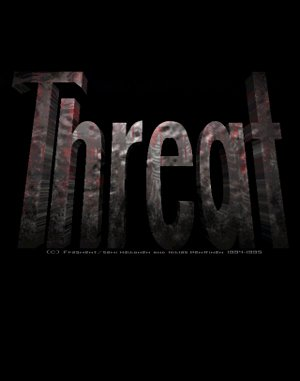 Threat DOS front cover