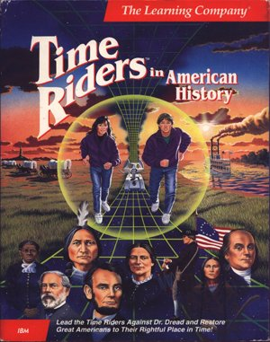 Time Riders in American History DOS front cover