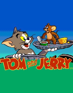 Tom & Jerry DOS front cover