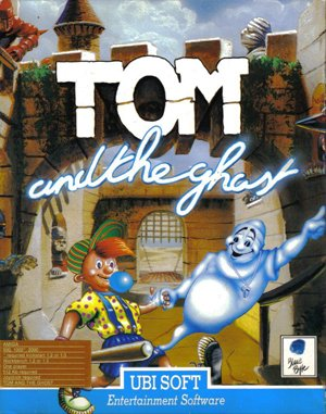 Tom and the Ghost DOS front cover