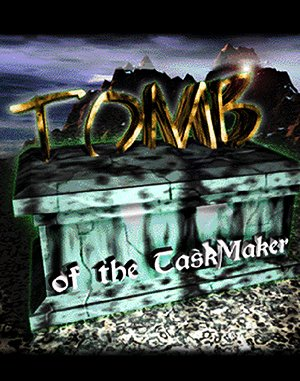Tomb of the TaskMaker DOS front cover
