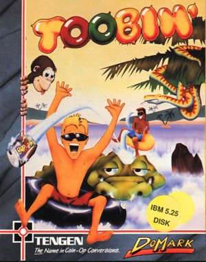 Toobin' DOS front cover