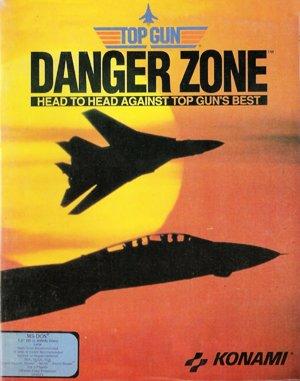 Top Gun: Danger Zone DOS front cover