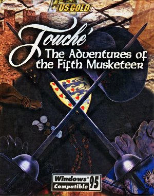 Touché: The Adventures of the Fifth Musketeer DOS front cover
