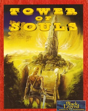 Tower of Souls DOS front cover
