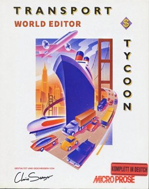 Transport Tycoon World Editor DOS front cover