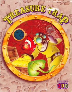 Treasure Trap DOS front cover