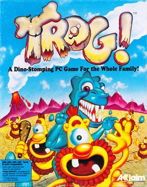 Trog DOS front cover