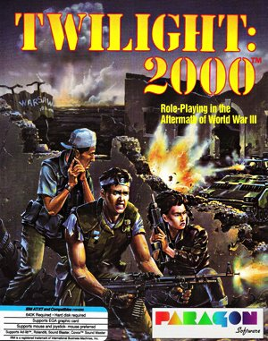 Twilight: 2000 DOS front cover