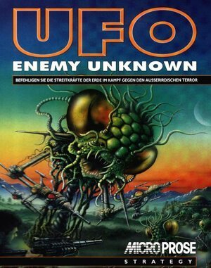 UFO: Enemy Unknown (CZ) DOS front cover