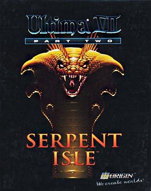 Ultima VII: Part Two – Serpent Isle DOS front cover