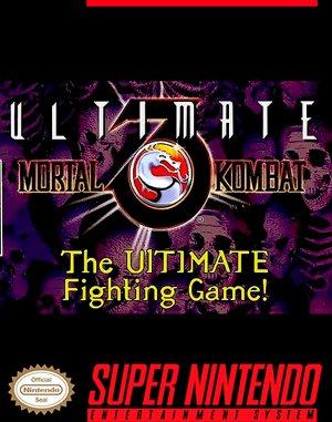 Ultimate Mortal Kombat 3 SNES front cover