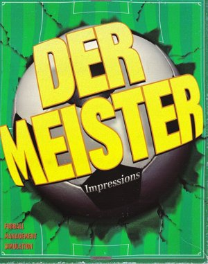 Ultimate Soccer Manager DOS front cover