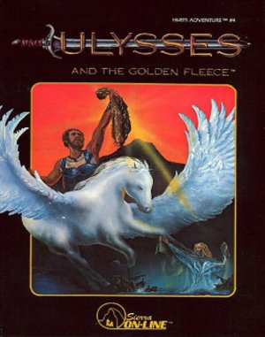 Ulysses and the Golden Fleece DOS front cover