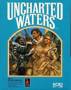 Uncharted Waters DOS front cover