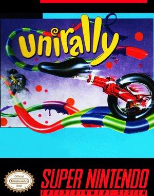 Uniracers SNES front cover