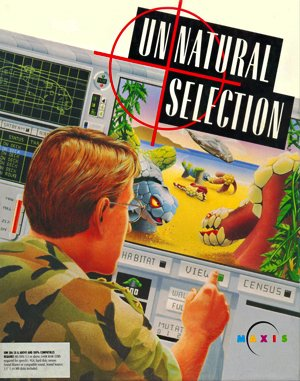 Unnatural Selection DOS front cover