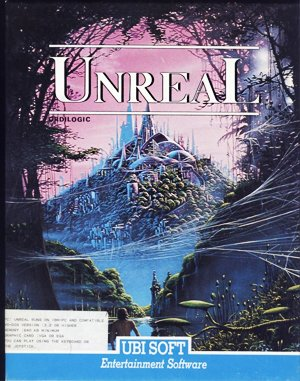 Unreal DOS front cover