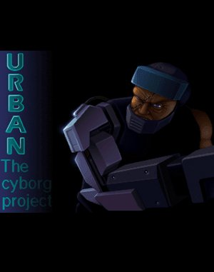 U.R.B.A.N The Cyborg Project DOS front cover