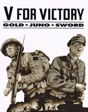 V for Victory: Gold-Juno-Sword DOS front cover