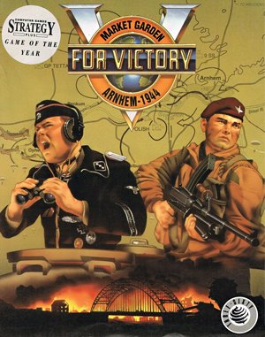 V for Victory: Market Garden DOS front cover