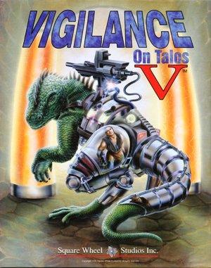 Vigilance on Talos 5 DOS front cover