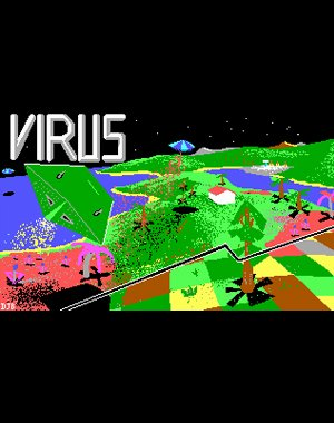 Virus DOS front cover