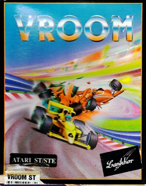 Vroom DOS front cover