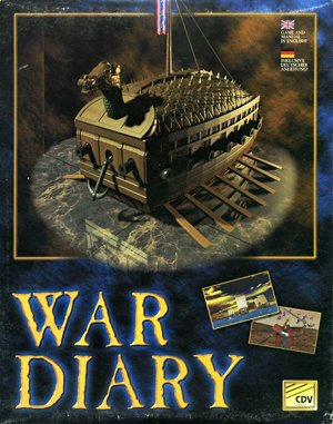 War Diary DOS front cover