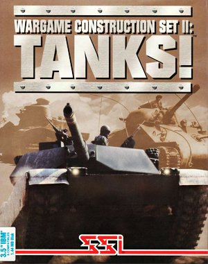 Wargame Construction Set II: Tanks! DOS front cover