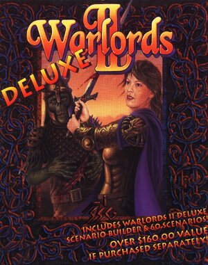 Warlords II Deluxe DOS front cover