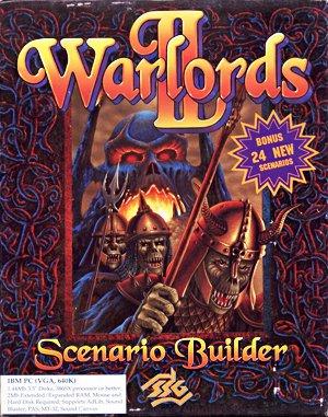 Warlords II Scenario Builder DOS front cover
