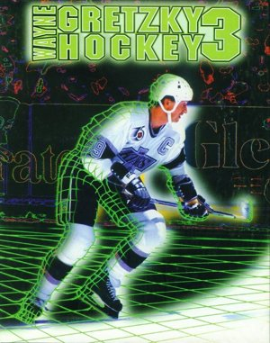 Wayne Gretzky Hockey 3 DOS front cover