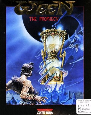 Ween: The Prophecy DOS front cover