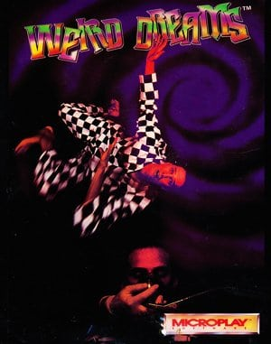 Weird Dreams DOS front cover